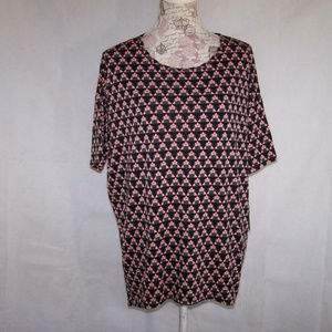 Lularoe Disney Irma Tunic Top Small Minnie Mouse